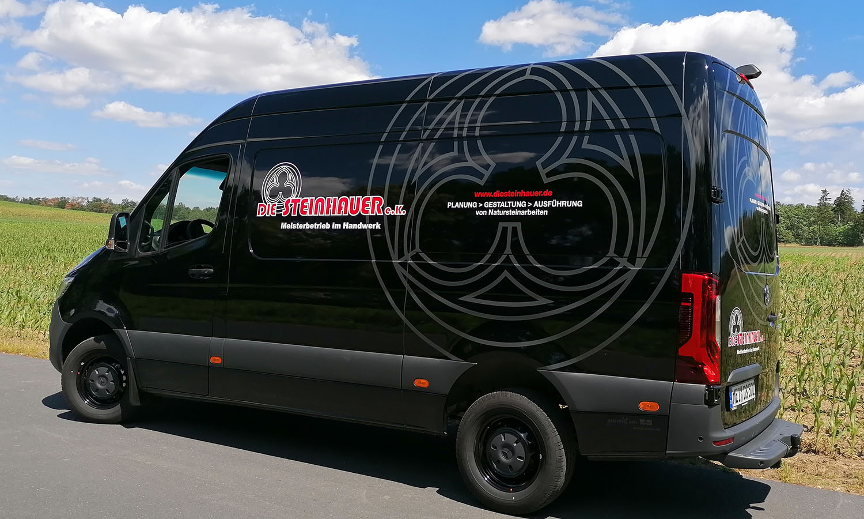 Fahrzeugbeschriftung Sprinter